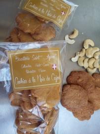 Cookies Cajou avec de gros éclats