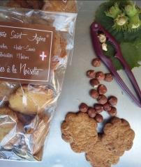 Mini cookies noisette 3