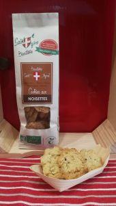 Cookies avec gros éclats de noisettes